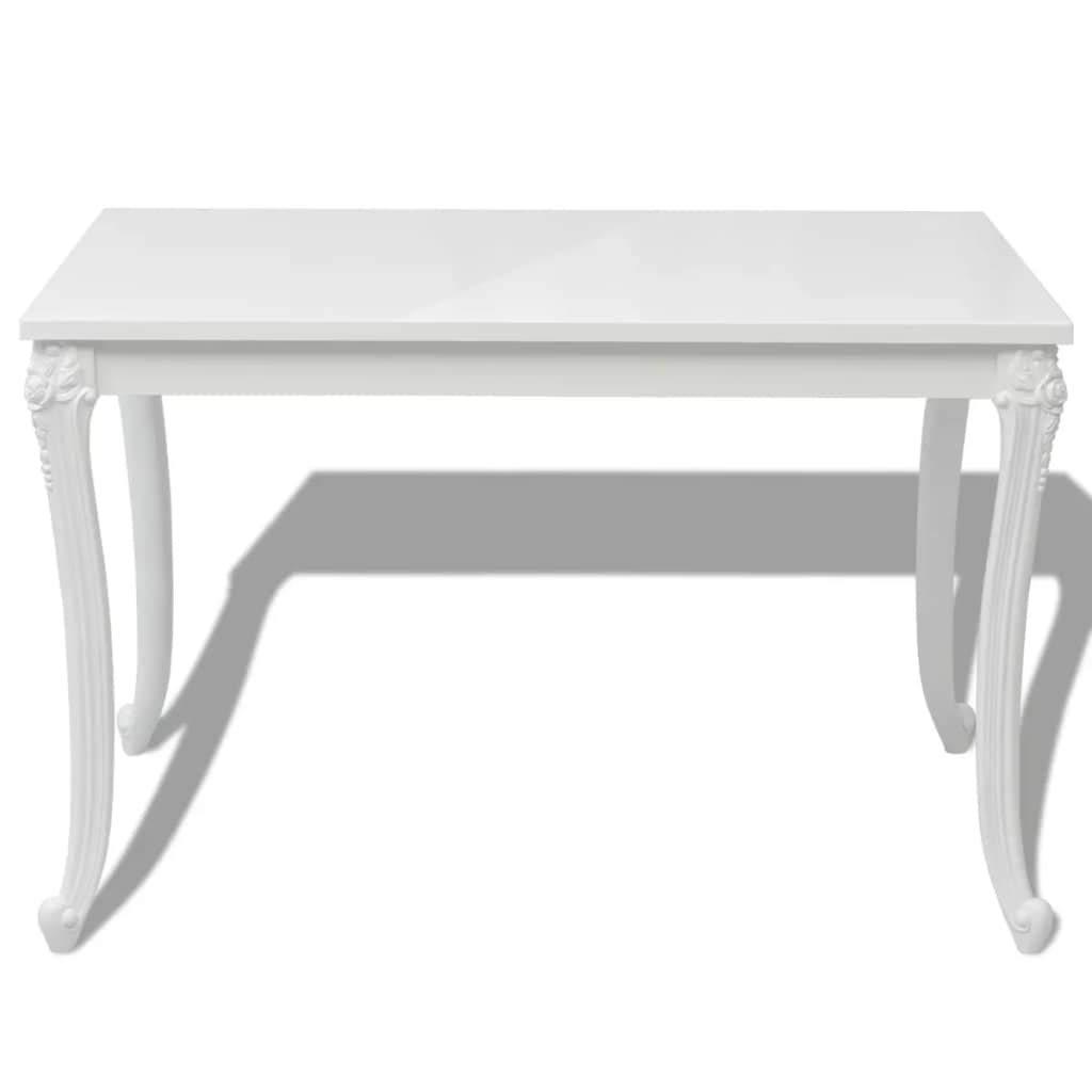 Amazon.com: Vislone - Mesa de comedor rectangular de alto ...