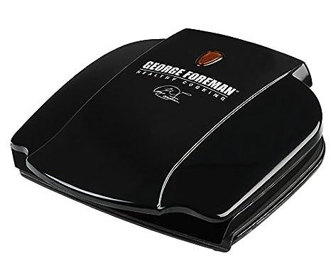 Amazon.com: George Foreman gr0036b eléctrico parrilla, negro ...
