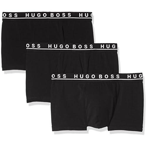chollos oferta descuentos barato BOSS Trunk CO EL Bóxer Negro Black 001 XX Large Pack de 3 para Hombre