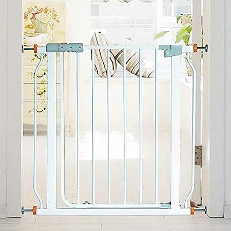 Huo Barrera de Seguridad para Bebés de Metal para Barandillas de Escaleras, Puertas Retráctiles para Perros con Ajuste de Presión con Puerta (Size : 132-139cm): Amazon.es: Hogar