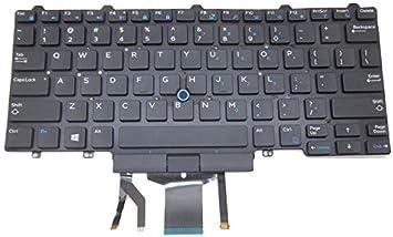 Teclado para laptop DELL Latitude E5450 5450 E5470 EE. UU ...