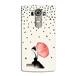 Cover it up Umbrella Girl Hard Case for LG G4 - Multi Color