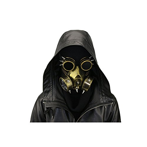 2017 Halloween Retro rubber Steampunk mask for horror party and cosplay -