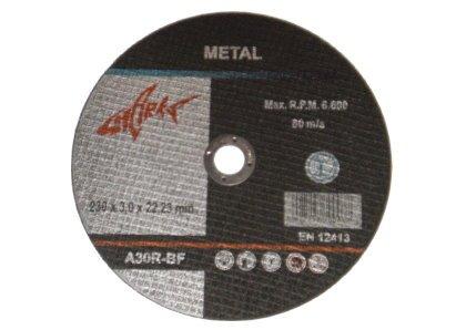 Discos de corte 25 unidades inox 230 x 2,0 mm metal acero ...