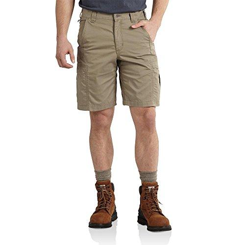 Carhartt Men's Mosby Lightweight Cargo Short,Burnt Olive,40 (G-flex Canvas)