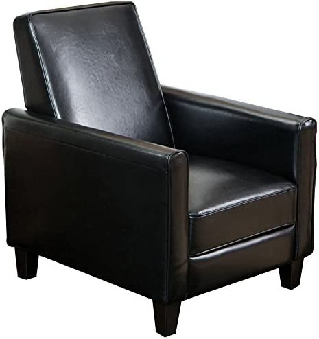Christopher Knight Home Davis Leather Recliner Club Chair