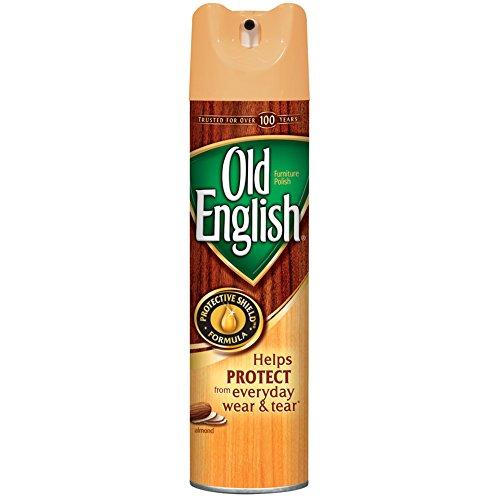 Old English Furniture Polish, Almond 150 oz (12 Cans x 12.5 oz) (Wooden Furniture Reel)