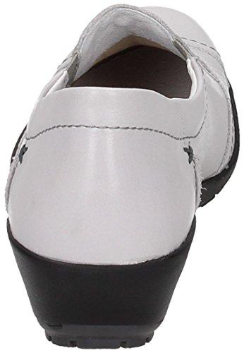 Bianco Comfortabel Slipper Donna Damen Bianco Mocassini qAxCwBIZx