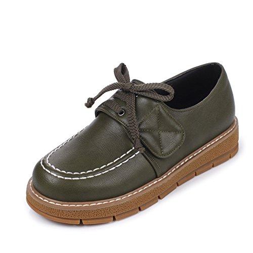 de oscuros tacón de mocasines Zapatos elegante Correa minimalistas C Velcro 4tqxq0dF