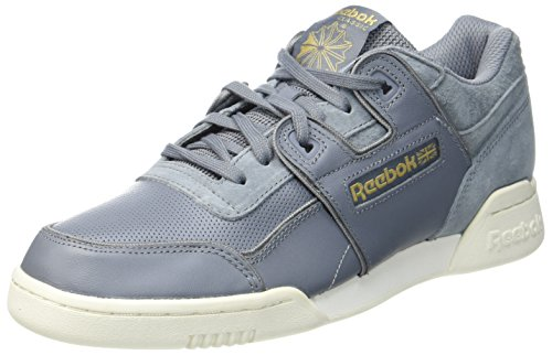 Plus Homme Dust Brass Reebok Alr chalk Grey asteroid rbk Workout baseball Gymnastique Gris Chaussures De 5wqYRa