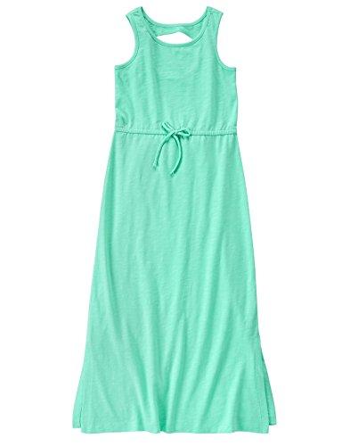 Crazy 8 Big Girls' Knit Maxi Dress, Beach Glass, M