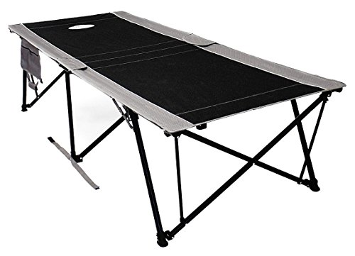 Kwik Cot, Black Gray, 400 lb Capacity