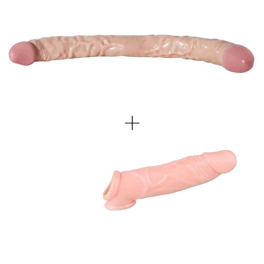 Senior 16.5-inch Huge Body Female Waterproof Body Relaxing Toy - Flesh - Jianadae by Full