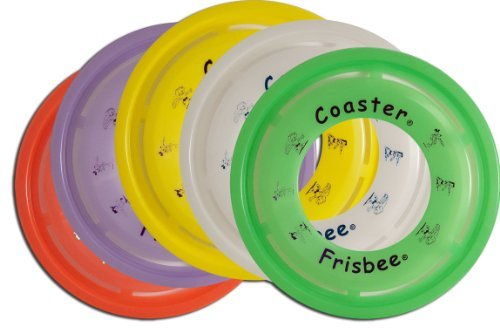 bee Coaster 6 Pack (Original Frisbee)