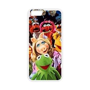 iPhone 6 Plus 5.5 Inch Cell Phone Case White MUPPETS KERMIT PIGGY FUN 003 HIV6755169496464