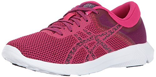 Nitrofuze Cosmo Medium Shoe 6 Us Women's prune 2 Pink Running black Asics I5vXq41
