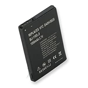 HTC Excalibur Cell Phone Battery (Li-Ion 3.7V 900mAh) Rechargable Battery - Replacement For HTC DASH/EXCALIBUR Cellphone Battery