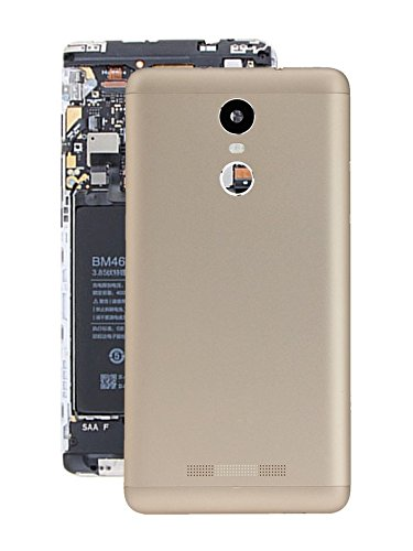 uk availability 9bbc0 7cf30 Case Creation Replacement Metallic Body Back Door Cover Panel for 5.5-inch  Xiaomi Redmi Note 3 (2016) (Champagne Gold)
