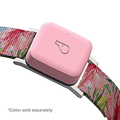 Whistle GO/Health and Location Tracker for Pets/Blush