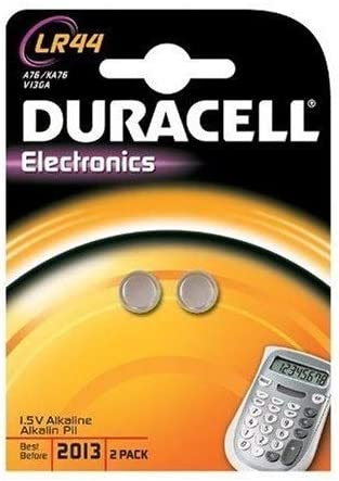 Duracell Button Cell Alkaline Lr44 Lr1154 V13ga Elektronik