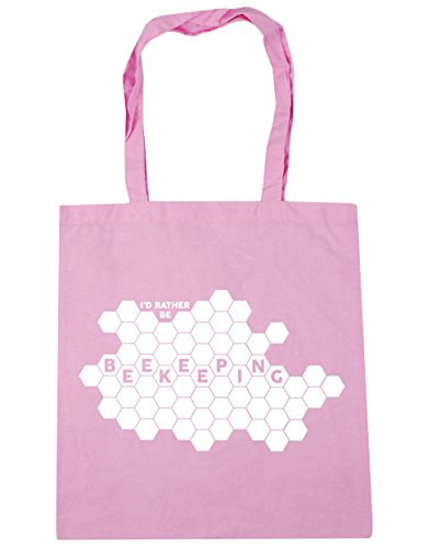 Shopping x38cm 10 42cm Be Pink Bag Rather Classic Gym HippoWarehouse Beach I'd Beekeeping litres Tote qPZWvfXxw