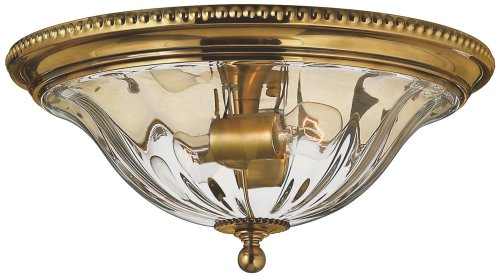 Hinkley 3616BB Traditional Two Light Flush Mount from Cambridge collection in (Hinkley Oxford Collection)