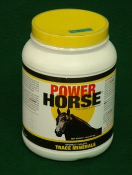 Power Horse Trace Minerals 4 Pounds
