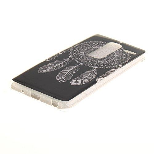 bell Slim LG Cas Souple Bord De En Couverture Transparent Téléphone Résistant Class Fit Hozor Wind Antichoc Protection Scratch TPU Peint De Cas Silicone Arrière Zero Motif 7w40xTdqf