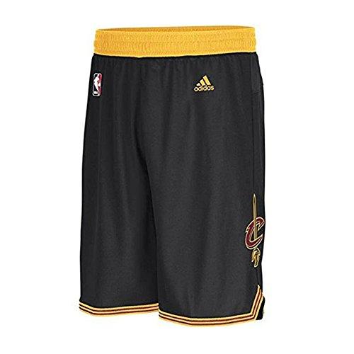Cavaliers Swingman Shorts - Cleveland Cavaliers Swingman Youth Black Shorts (X-Large)