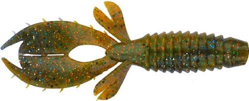 Big Bite Baits 3-Inch Yo Mama Lures-Pack of 10 (Sunfish Swirl)