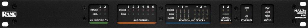 RANE HAL3s | Audio Digital Multiprocessor