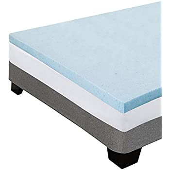 Amazon Com Memory Foam Mattress Topper 4 Inch Thick