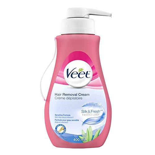 Veet Gel Hair Remover Cream, Sensitive Formula, 13.50
