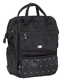 Lug Women's Via Tote Backpack, Dot Midnight, One Size