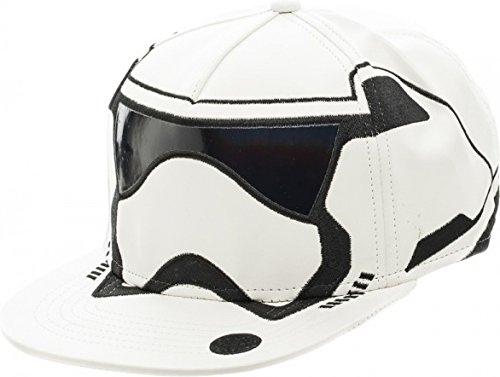 Star Wars 7 Trooper Big Face Snapback Baseball - Star Hat Wars Leather