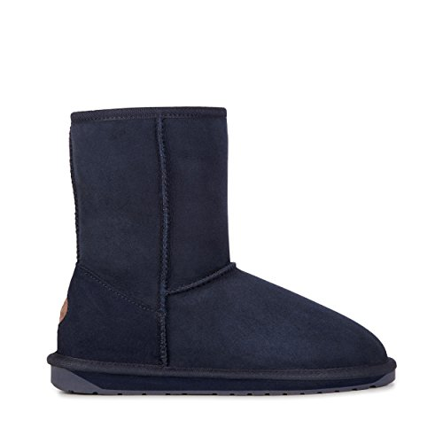 EMU Australia Womens Stinger Lo Winter Real Sheepskin Boots In Midnight Size 8 Emu Australia Womens Stinger