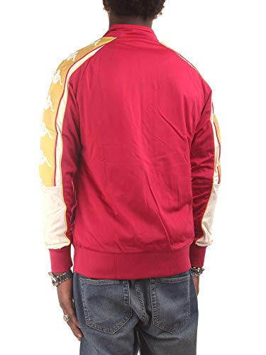 Rouge Kappa Shirts Sweat Homme 3031QD0 wqpBX4a