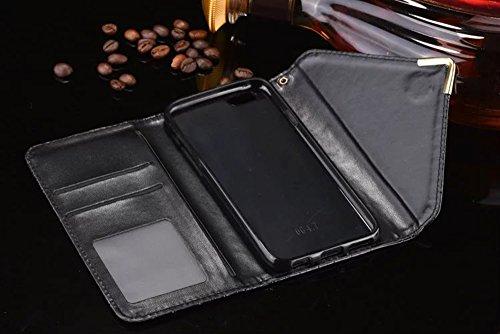 JIALUN-carcasa de telefono Cubierta de la caja del iPhone 6s 6, patrón de cocodrilo Funda de la caja de la PU Funda de la caja del estilo de la envoltura de la caja de cuero para iPhone 6s 6 ( Color : Coffee