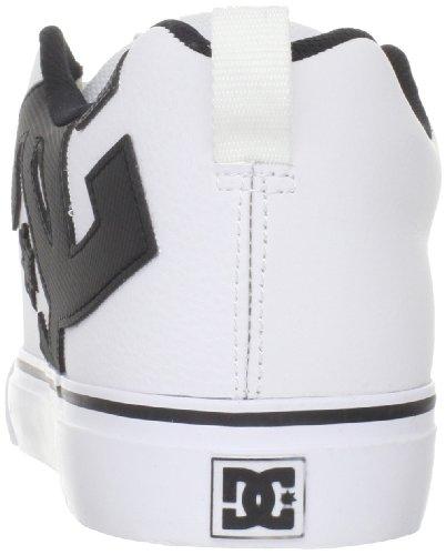 Dc Mens Court Vulc Action Chaussure De Sport Blanc / Noir