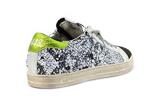 Paillettes Sneaker P448 40 Taglia E8JOHN colore Multi Color g7qRdwH