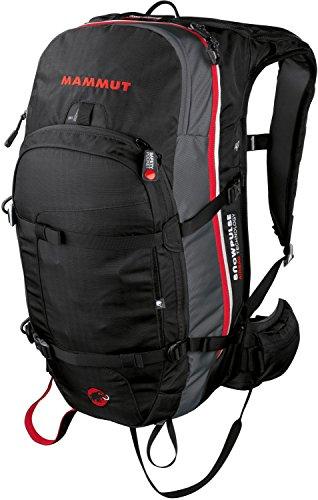 Mammut Lawinenrucksack Pro Protection Airbag, Black/White, 33 x 21 x 53 cm, 35 L, 2610-00771-0047-1035