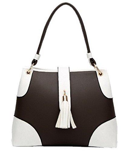 Shopping Handbags White AgooLar Tassels Dress Women's Clutch White GMDBA181560 Pu Y4AIZqw