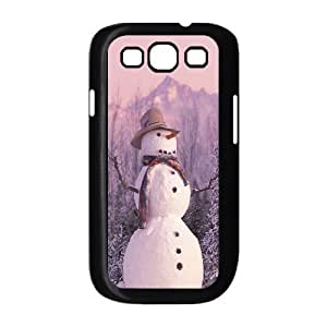 ALICASE Diy Back Case Snowman For Samsung Galaxy S3 i9300 [Pattern-1] Kimberly Kurzendoerfer