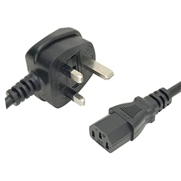 3 M cable de alimentación IEC C13 Enchufe UK Plug Lead Cable ...