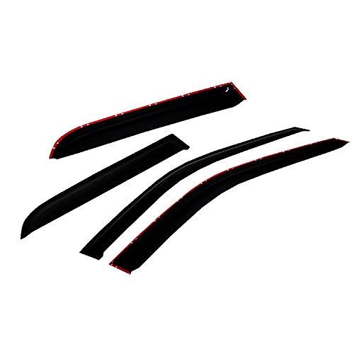 04 trailblazer vent visors - 2
