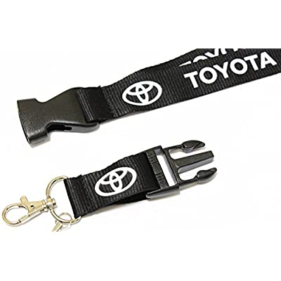 Toyota Lanyard Key Chain Holder: Office Products