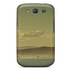 New Style Tpu S3 Protective Case Cover/ Galaxy Case - Hazy Coastline