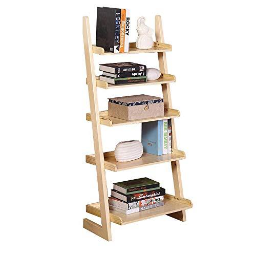 Storage Desk Cd L-shaped - Jcnfa-Shelves Trapezoid Bookcase Five-Storey Shelf L-Shaped Rack Plant Book Storage Living Room Bedroom Study, 2 Colors (Color : Wood Color, Size : 23.8115.5555.11in)