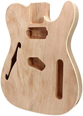 Guitarra eléctrica de madera de caoba de PassBeauty, cuerpo de ...