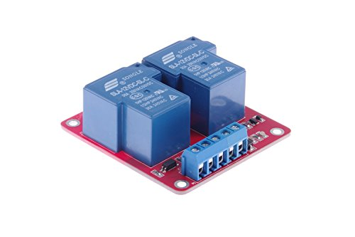 KNACRO DC 12V SLA-12VDC-SL-C DC 12V/AC 250V 30A dual relay module 30A two-way 2-way relay module optocoupler isolation